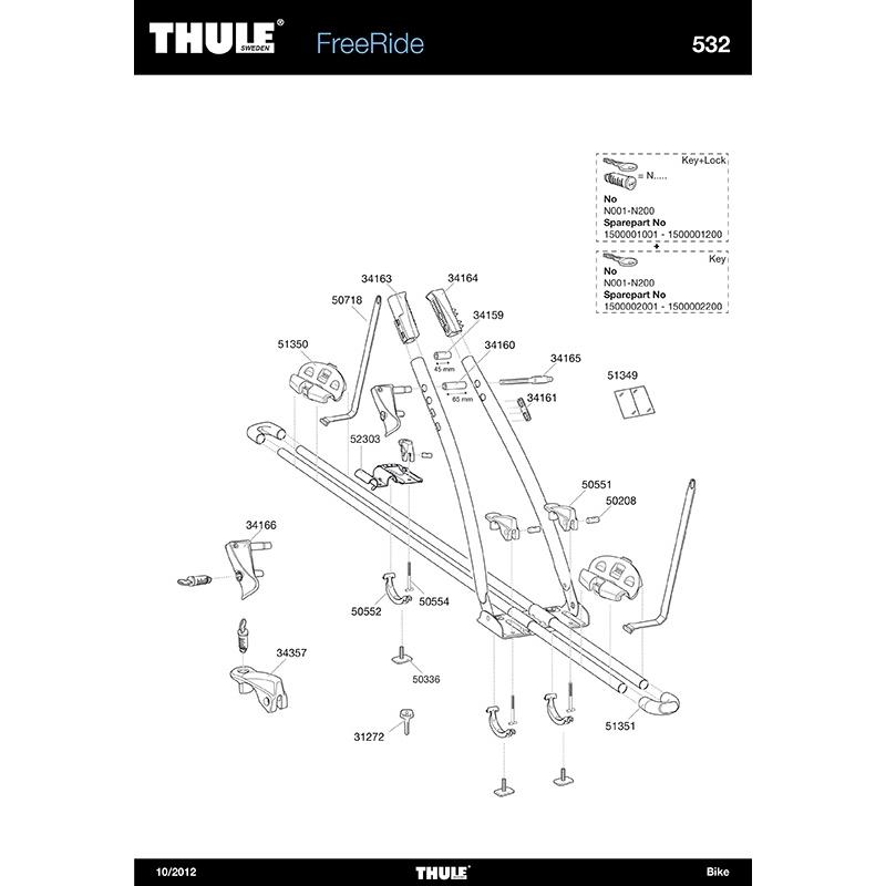 t skruv m6x64 5 mm till cykelh llare thule freeride 530. Black Bedroom Furniture Sets. Home Design Ideas