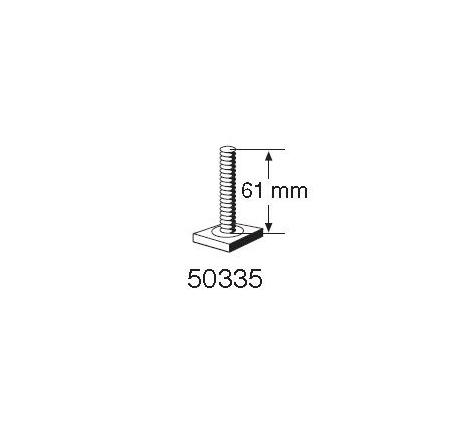 T-spårsskruv M6x61 mm till Cykelhållare Thule ProRide 591/598