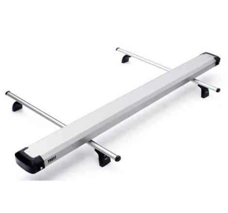 Rörbox Thule Professional i Aluminium 320x22x12 cm
