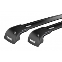 Thule WingBar Edge Black / takräcke BMW 1 series 3-dr Hatchback 2007-> Fasta fästpunkter