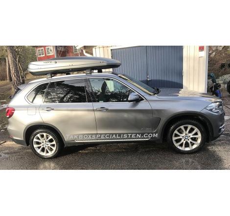 Takbox Hapro Zenith 8.6 Titanium grå på BMW X3