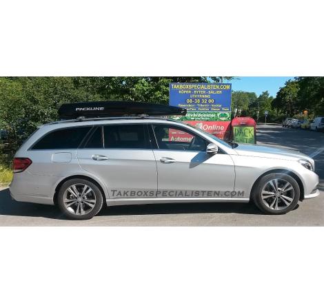 Takbox Packline FX-SUV 2.0 Svart högblank på Mercedes Benz E-Class