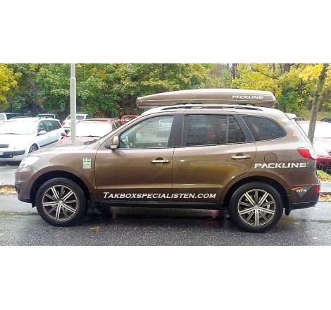 Takbox Packline FX-SUV 2.0 Svart högblank på Hyundai Santa Fé
