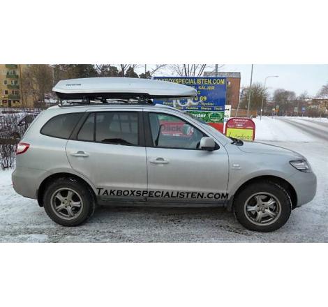 Takbox Packline F Avantgarde Silvermetallic på Hyundai Santa Fé