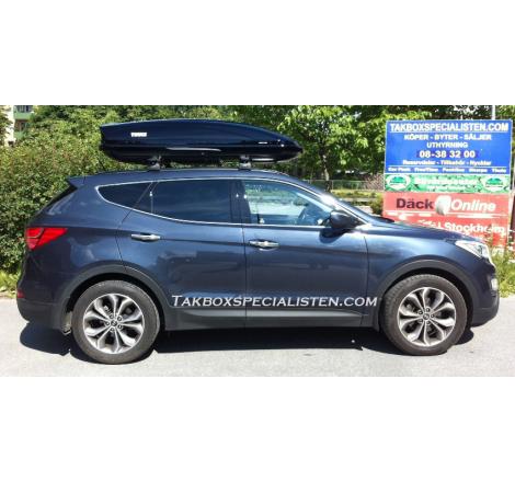 Takbox Thule Motion XT XL Svart högblank på Hyundai Santa Fé