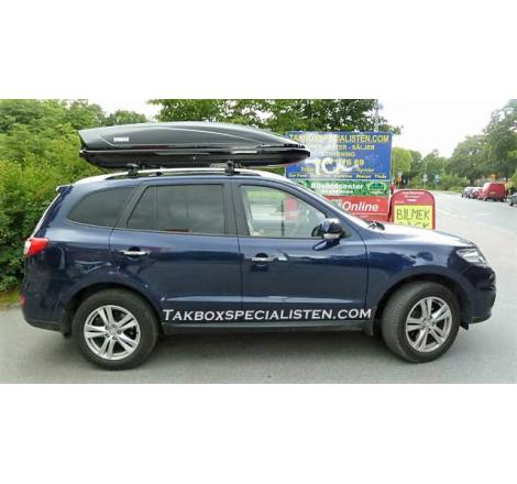 Takbox Thule Motion / Motion XT XXL Svart högblank på Hyundai Santa Fé