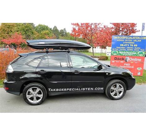 Takbox Thule Spirit 820 / Dynamic L900 Svart högblank på Lexus RX