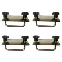 Monteringssats monteringsbygel M8 c/c 90 mm. Rostfritt