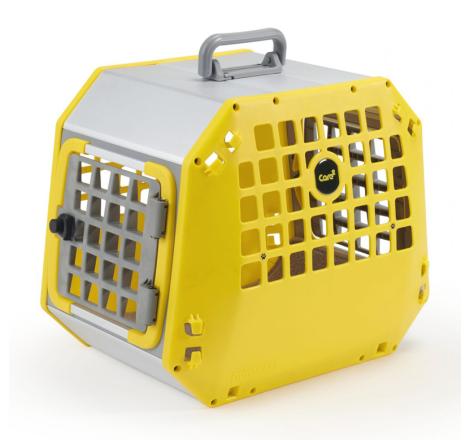 Hundbur / Transportbur MIM Care2Medium Gul