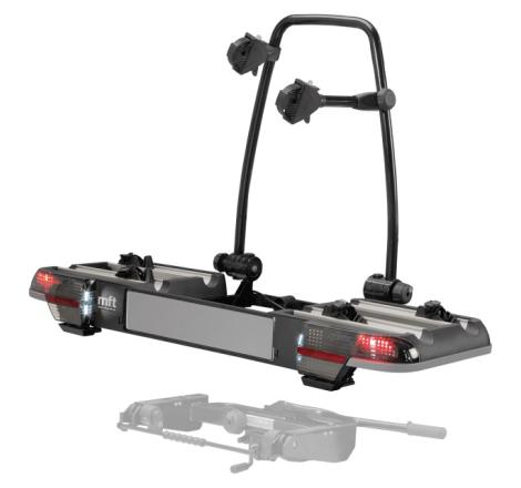 MFT BackPower Cykelhållare 2-4 cyklar + BackCarrier Bärmodul