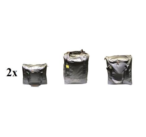 Väsksats Pagura 3. (4 väskor) 2X 45L+35L+25L