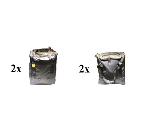 Väskset Pagura 3. (4 väskor) 2x 35 L+ 2x 25 L