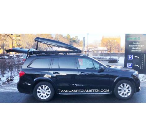 """Takbox Packline FX-SUV Svart """"Mercedes Benz AMG"""" Edition - 400 Liter"""