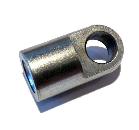 Ögla 10 mm. M10 gänga. Till gasdämpare