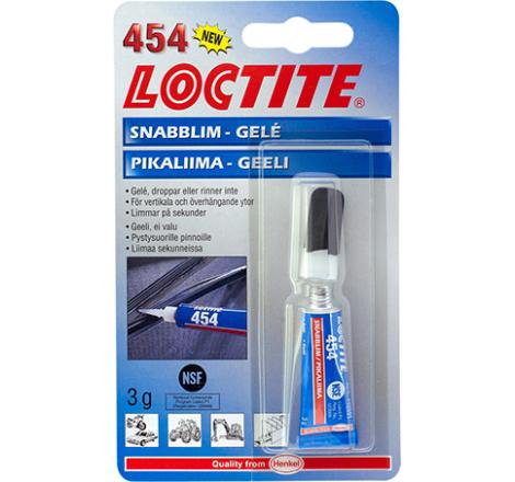 Loctite snabblim 454 3g