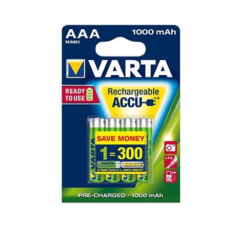 AAA laddbart Batteri 1000 mAh