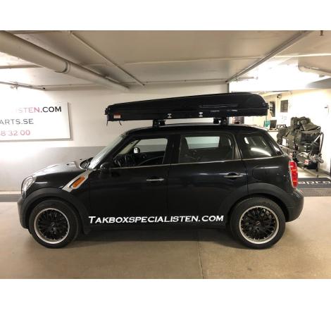Taktält - TentBox Classic Monterad På Mini Cooper