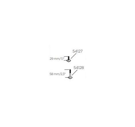 Adaptersats för T-spår 20x20 mm. Till Skidhållare Thule SnowPack