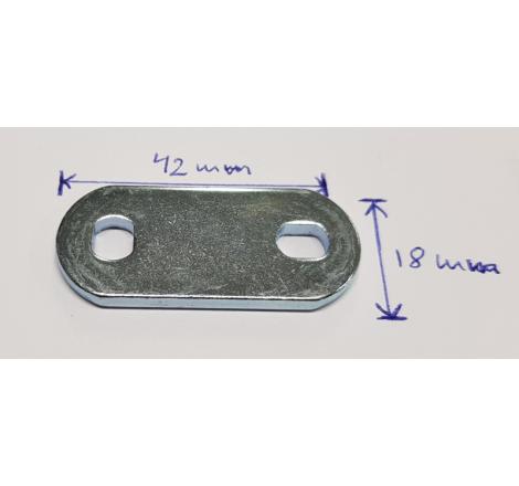 Låshake till Baton lås. Universal luckregel (EJ takbox)