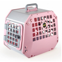 Hundbur / Transportbur MIM Care2 Medium Rosa