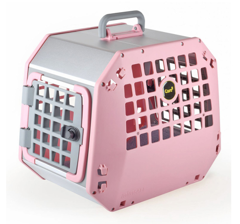 Hundbur / Transportbur MIM Care2 Medium Rosa