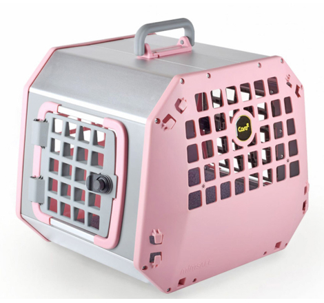 Hundbur / Transportbur MIM Care2 Large Rosa