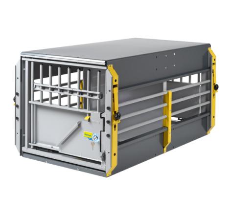Hundbur / Transportbur MIM MultiCage Dubbel Medium