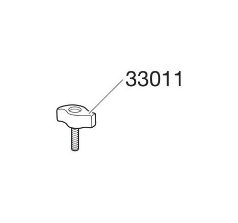 Tvåvingad ratt med skruv till TH 726 / 727 / 740