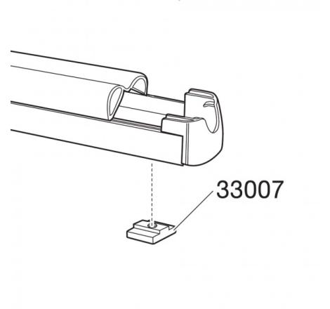 Fyrkantsmutter M6 till TH 726 / 727 / 740