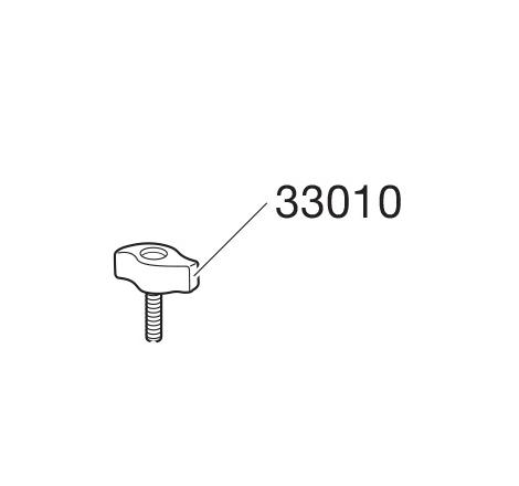 Låsratt 2-vingad till TH 745 / TH 746