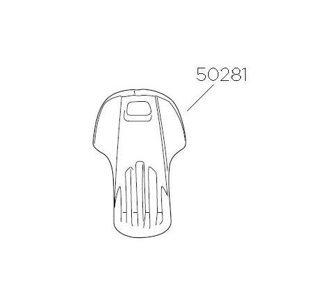Plastnyckel 2B till TH 7291