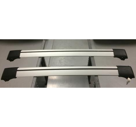 Whispbar S53 lasthållare / takräcke med rails/reling - Lätt beg