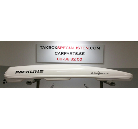 "Takbox Packline FX-SUV Vit ""Sail Racing"" Edition - 400 Liter"