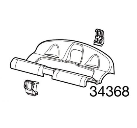 Hjulhållare, utan spännband till cykelhållare Thule OutRide 561 / Thule ProRide 591