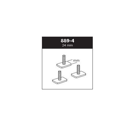Adaptersats Thule för T-spår 30x24 mm 889-4