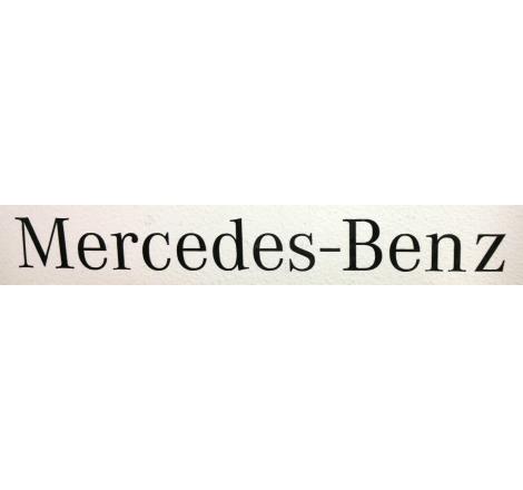 Dekalsats Mercedes Benz Svart