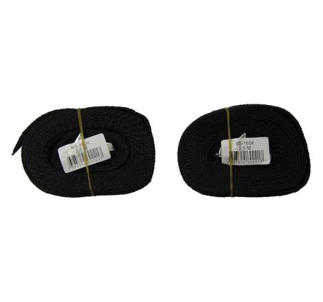 Spännband / Lastremmar 2,5 m. 2-pack