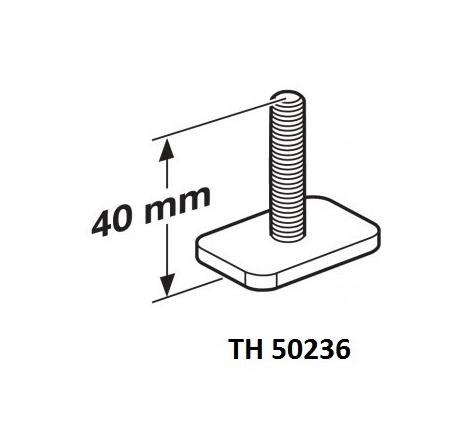 T-spårsbult M6x40 mm till Cykelhållare Thule OutRide 561