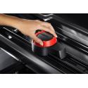 Takbox Hapro Zenith 8.6 Brilliantsvart metallic - 440 Liter