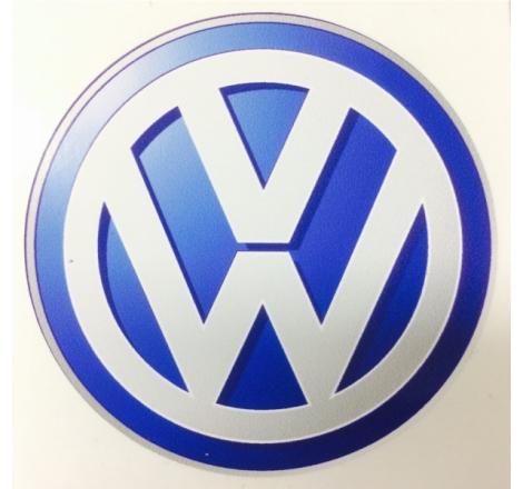 Dekalsats Volkswagen