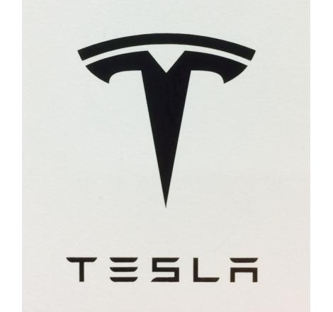 Dekalsats Tesla Svart