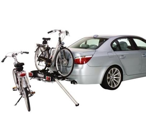 Lastramp till Thule cykelhållare