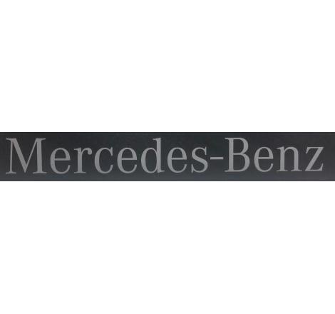Dekalsats Mercedes Benz Silver Stor