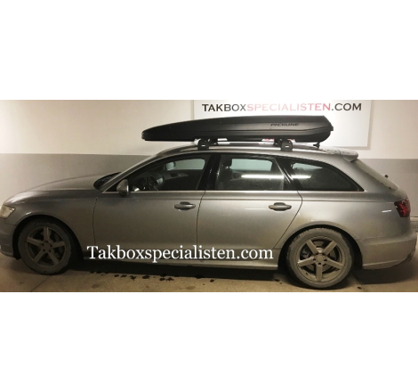 Takbox Packline F Sport Svart matt på Audi A6 Avant