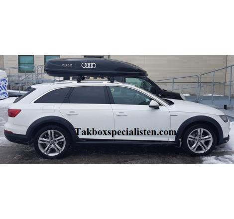 Takbox Hapro Cruiser Antracit på Audi A6 Allroad