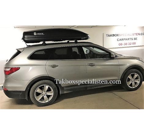Takbox Hapro Cruiser Antracit på Hyundai Santa Fé