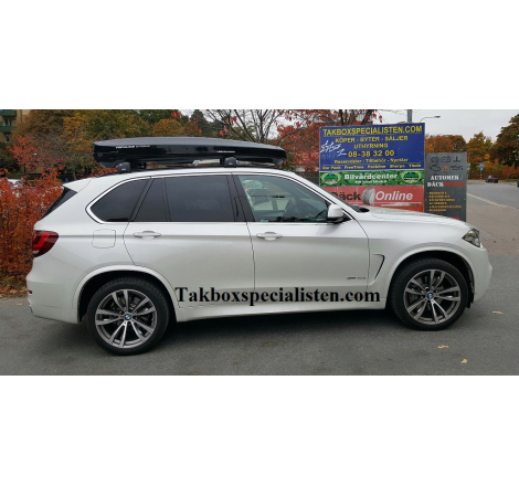 Takbox Packline NX Premium Svart högblank På BMW X5