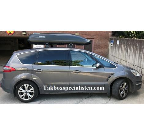 Takbox Hapro Cruiser Antracit på Ford S-Max