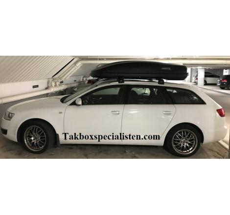 Takbox Hapro Cruiser Antracit på Audi A6 Avant