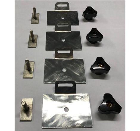 Monteringssats takbox för T-spår Aluminiumrör